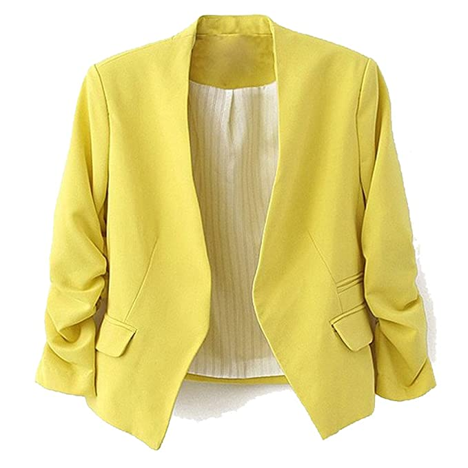 Amoin Style Womens Blazer Jacket Suit Work Casual