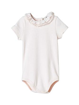 Cyrillus Body col en Dentelle bébé 24M Rose pâle  Amazon.fr ... 8073df4f8b9