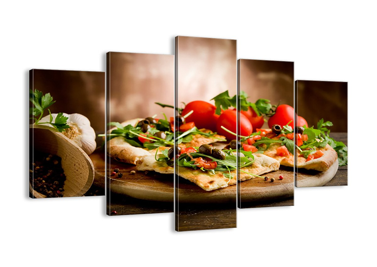 Bild auf Leinwand - Leinwandbilder - fünf Teile - Breite  150cm, Höhe  100cm - Bildnummer 2540 - fünfteilig - mehrteilig - zum Aufhängen bereit - Bilder - Kunstdruck - EA150x100-2540