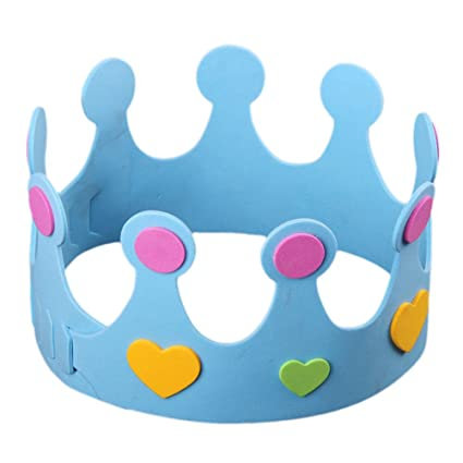 Amazon.com: BESTOYARD EVA Crown Birthday Handmade Hat for ...