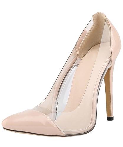 Chaussures Hooh beiges femme J5FrVCCMa