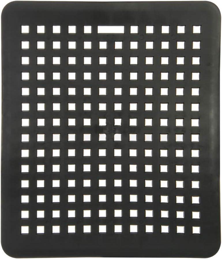 Wenco 542616 Alfombrilla rectangular para fregadero (31,5 x 27 cm), color gris