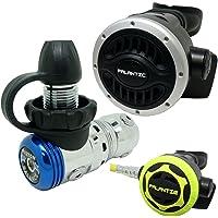 Palantic SCR-02-DIN-NA-OC - Regulador de Buceo AS103 DIN y Combo de Pulpo