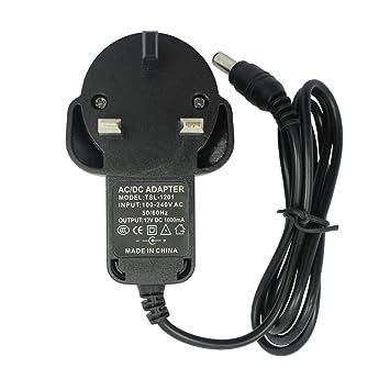 12V 1A AC / DC adaptador de corriente del cargador de ...