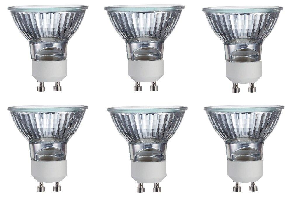 Philips 415737 Indoor Flood 35-Watt MR16 GU10 Base Light Bulb 6 Pack
