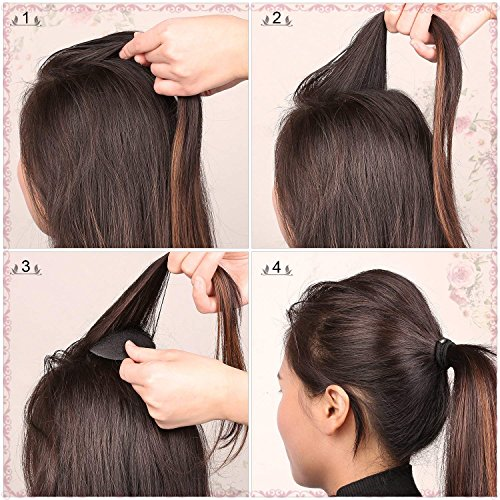 DELOVE- Hair Styling Accessories DIY Tools Set Hair Twist Styling Clip Stick Bun Maker Braid Tool by DELOVE- (Image #6)