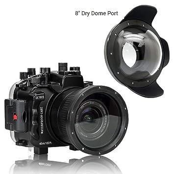 Amazon.com: Seafrogs - Carcasa para cámara de fotos de 8 ...