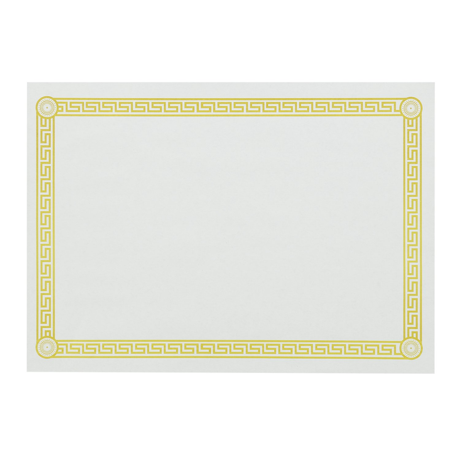 Royal Greek Key Design Disposable Placemats, Package of 1000