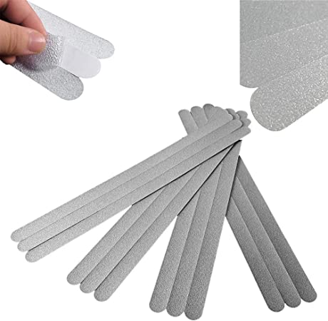 12//24x Strips Clear Non-Slip Safety Applique Decal Stickers Bath Tub Shower Kit