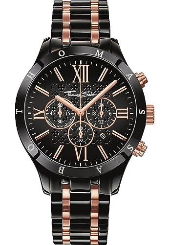 13ad1630cee4 Reloj Thomas Sabo - Hombre WA0196-268-203-43mm  Amazon.es  Relojes
