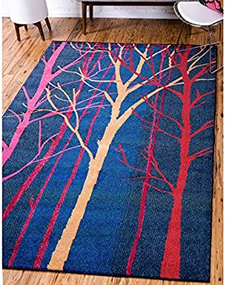 Amazon.com: Unique Loom Collserola Barcelona Area Rug ...