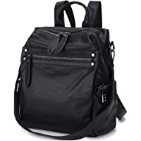 Backpack Purse for Women, PU Leather Fashion Convertible 2 Ways Shoulder Bag VX