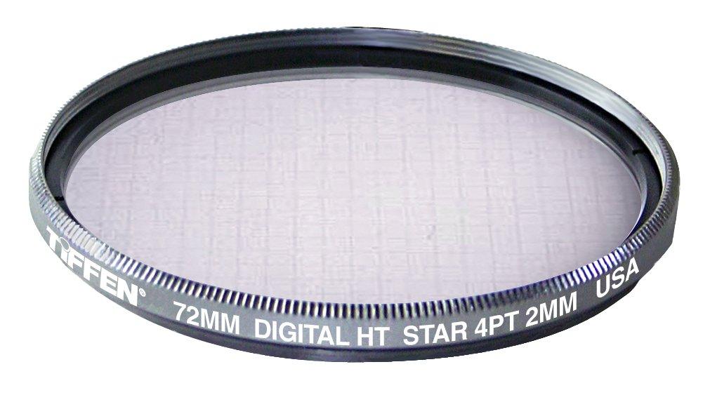 Tiffen 72HTSTR42 72MM Digital HT Star 4 PT 2 Titanium Filter by Tiffen