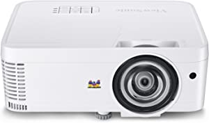 ViewSonic PS600X 3500 Lumens XGA HDMI Networkable Short Throw Projector for Home and Office