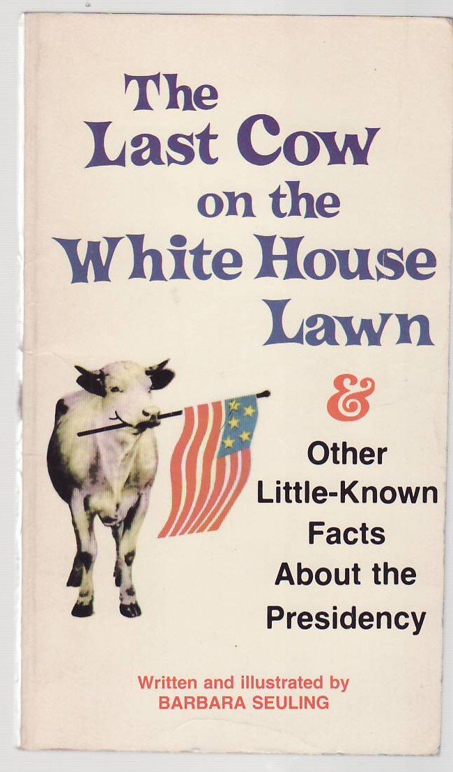 Image result for white house cows