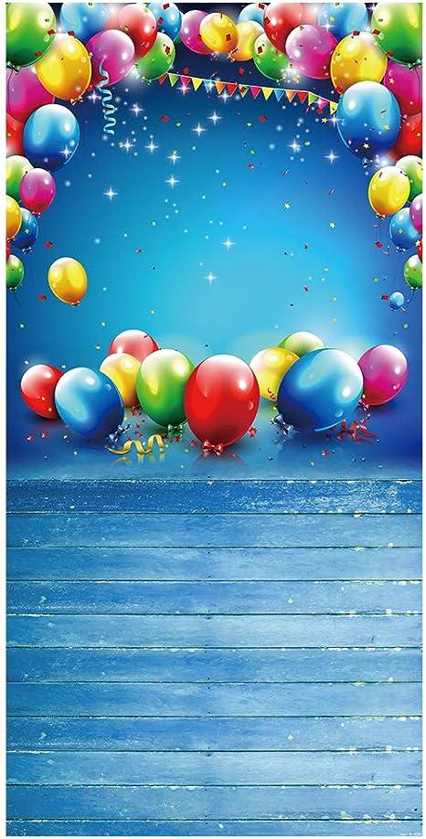 Muzi Photography Hintergrund Baby Geburtstag Ballon Kamera