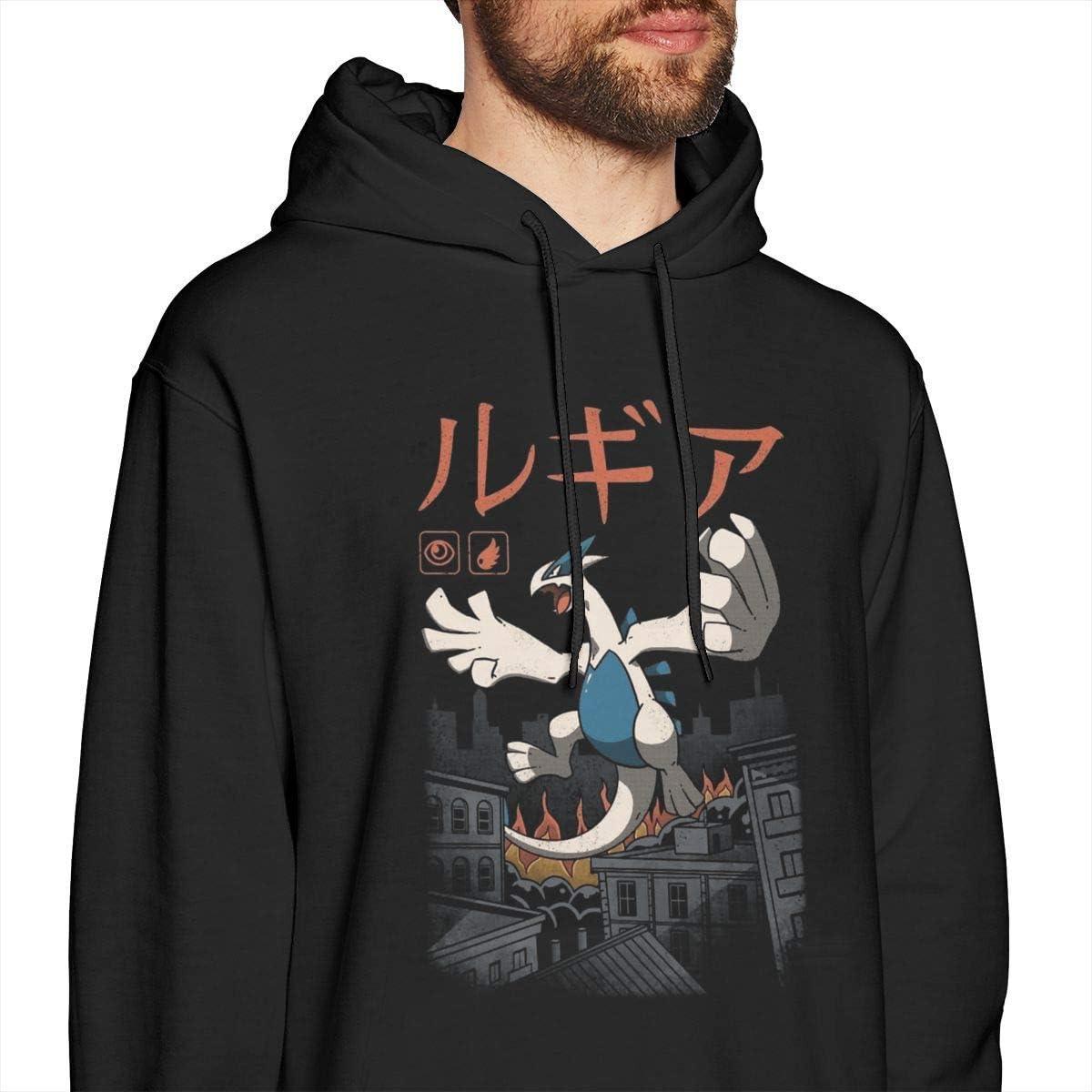 zhkx Poke Venusaurier Gras Kaiju Herren Pullover Hoodies Rundhals-Langarm-Sweatshirt Schwarz Xxx-large|style3