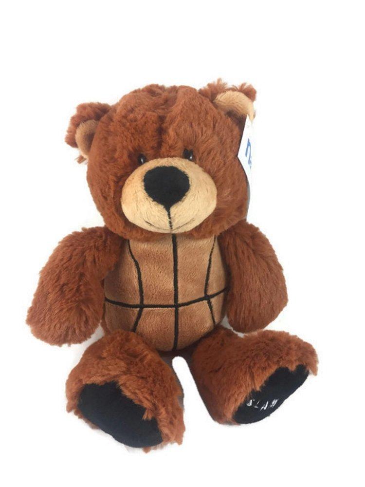Babys First Basketball Plush Bear