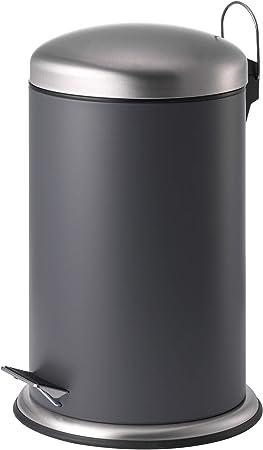 Ikea Asie Mjosa Poubelle A Pedale Gris Fonce Amazon Fr Cuisine Maison