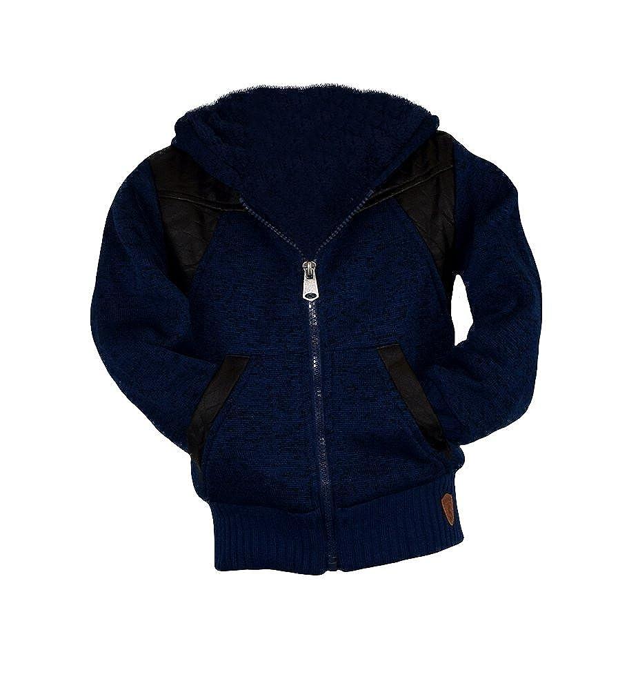 S& LU Tolle Kinder-Fell-Sweatjacken Jeansjacken mit coolen Prints und warm gefüttert in verschiedenen Ausführungen und Größen