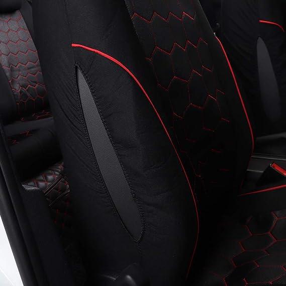 Amazon.es: Chemu Juego Asiento de Coche Auto Accesorios de vehículos Silla Caso Protección para Fabia 3 Rapid Spaceback Yeti i20 i30 ix20 Kona Solaris ...