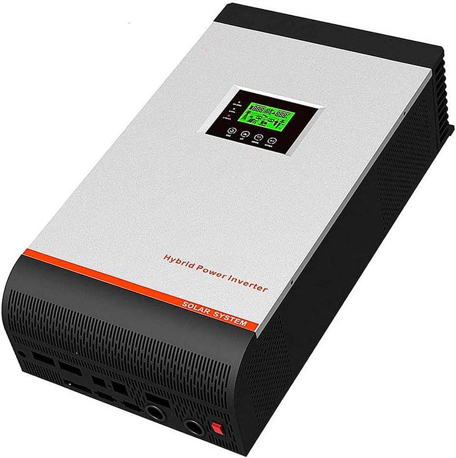 Inversor Onda Pura Hibrido Multifunción 24V 3kVA 5kVA + Regulador PWM 50A + Cargador 30A