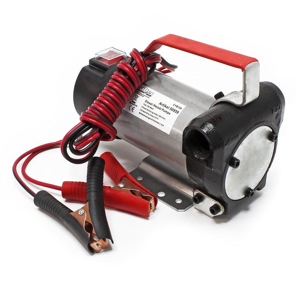 Bomba de combustible Bio diesel autoaspirante 12V//150W pistola de 40l//min.