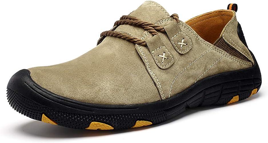 Trekking Hiking Footwear Men's Leather