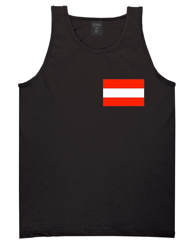 Austria Flag Country Chest Tank Top Shirt