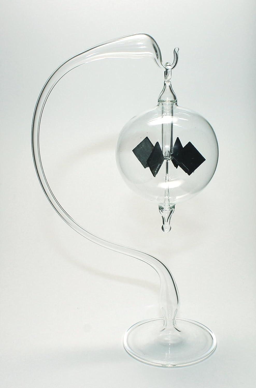 Lichtmühle Solar Radiometer stehend 80mm klar//blau Lichtmühlen von GlasXpert