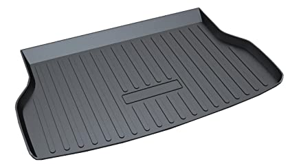 Amazoncom Vesul Rear Trunk Cargo Cover Boot Liner Tray Carpet - Acura rdx floor mats