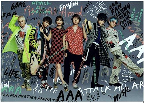 AAA メンバー集合 クリアファイル FAN MEETING ARENA TOUR 2018~FAN FUN FAN~ ファングッズ