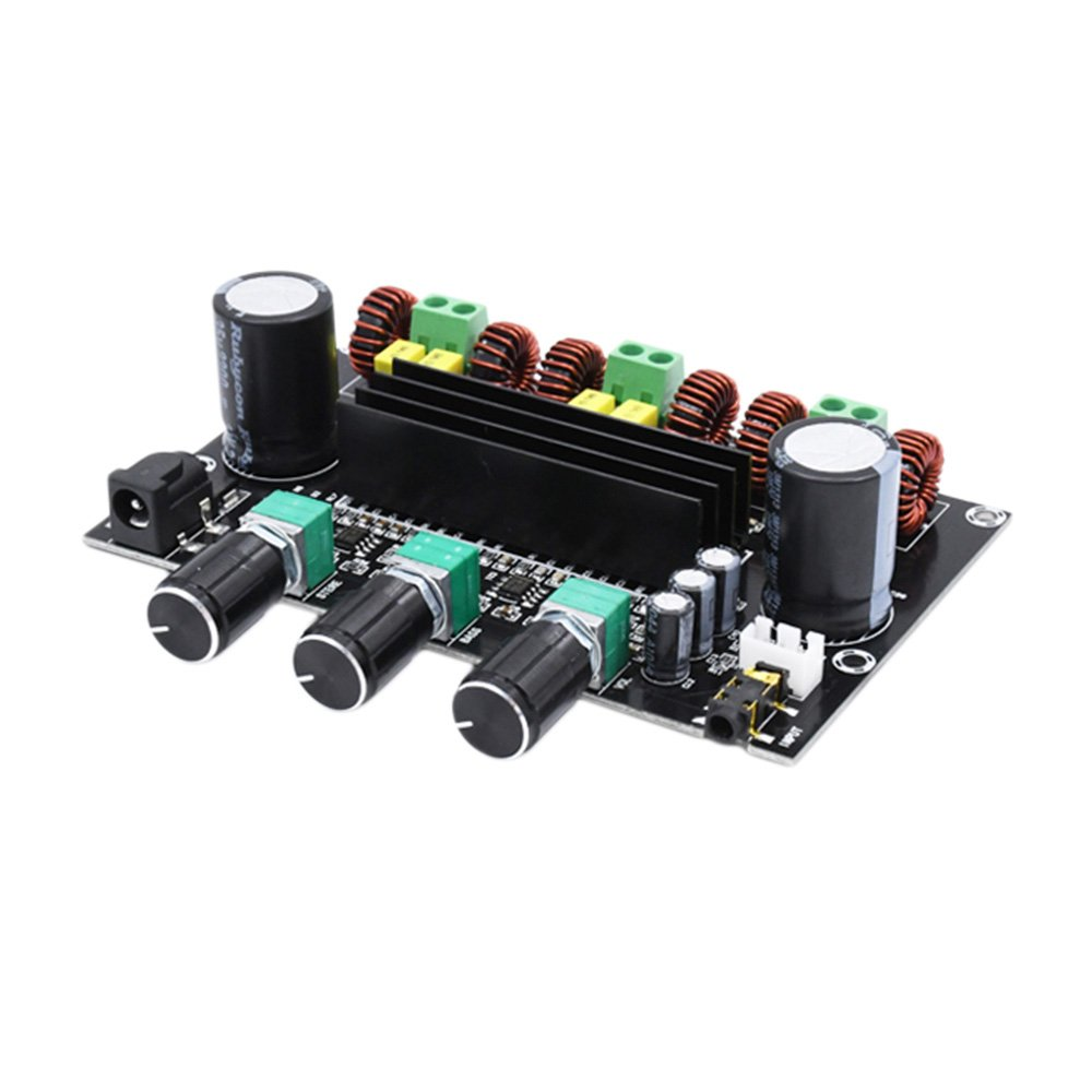 AOSHIKE Update TPA3116D2 Digital Amplifier Board 2.1 Channel High Power Audio Amplifier Board 2x80W+100W DIY Speaker Home Theater