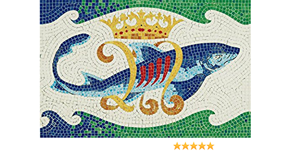 Gaud/í Kit Mosaico Delfino Piedra de cer/ámica AEDES ARS 5504