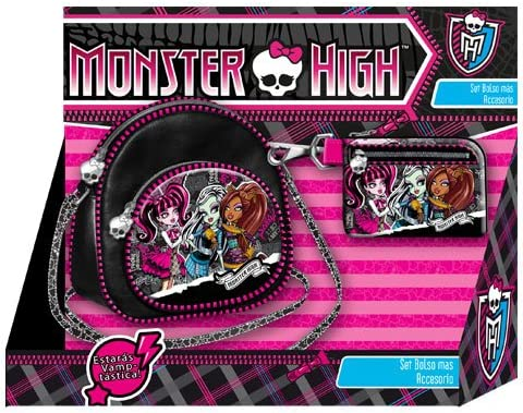 Monster High - Pack Bolso Oval + Monedero Slim (Karactermania ...