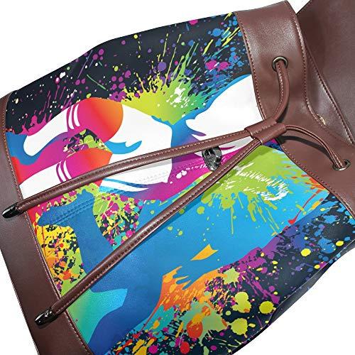 Sac Taille multicolore unique à femme dos DragonSwordlinsu au porté main pour pdCazqw