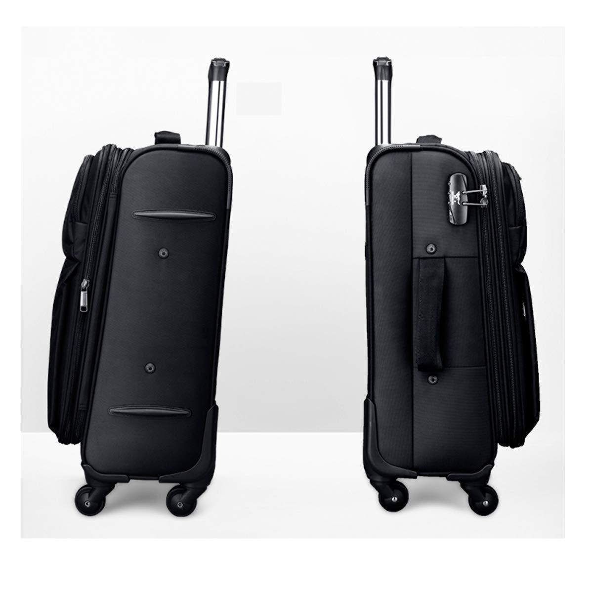 Train Box Travel Organizer Trolley case 20 inches Bahaowenjuguan Travel Suitcase Simple Soft Travel Bag