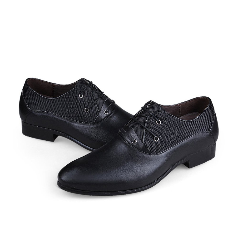 322259030097b Men  s First Layer of Cow Leather Casual Shoes British Business Shoes  Oxfords