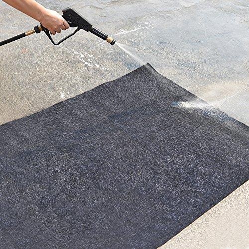Garage Floor Mat (18' x 7'6''), Absorbent/Waterproof/Lightweight/Washable Garage & Shop Parking Mats by KALASONEER (Image #5)