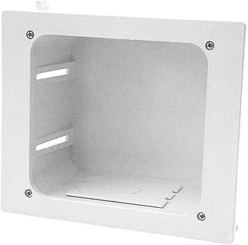 Light Almond Construct Pro Flush Mount Phone Plate