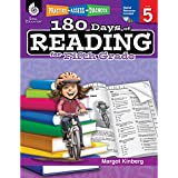 180 Days of Reading for Fifth Grade Easy-to-Use 5th Grade Workbook to Improve Reading Comprehension Quickly, Fun Daily Phonics Practice for 5th Grade Reading (180 Days of Practice)