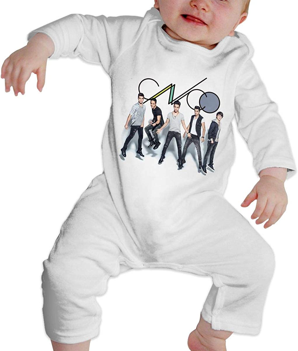 Qq1-asd-store CNCO Boys//Girls Baby Cotton Long Sleeve Romper Warm Bodysuit