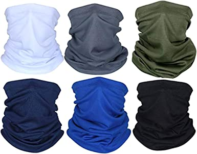 Cycling Scarf Sun UV Protection Neck Gaiter Magic Face Cover Scarf Dust Wind