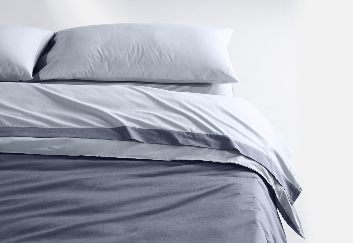 Casper Sheet Set Breathable Soft and Durable Supima Cotton 6 Sizes and 6 Colors Available, Full, Sky/Azure by Casper