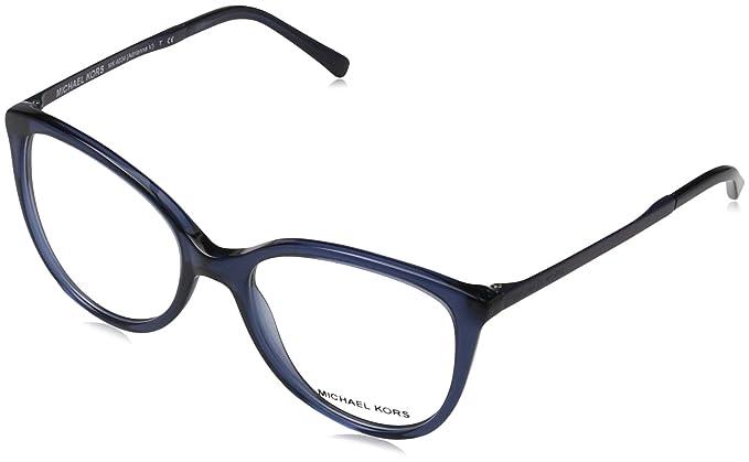 Michael Kors Antheia, Gafas de Sol para Mujer, Azul (Navy), 52