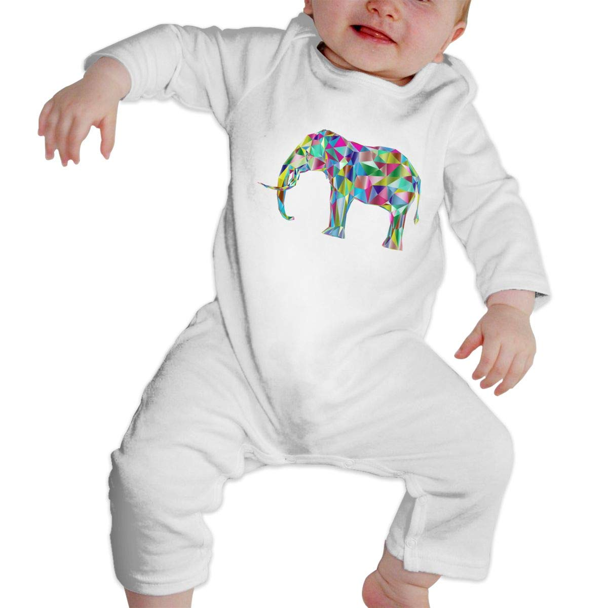 nordic runes Animal Elephant Baby Onesies Toddler Baby Girl//Boy Unisex Clothes Romper Jumpsuit Bodysuit One Piece