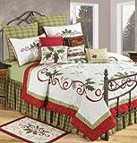 C & F Enterprises Holiday Garland Holiday Quilt