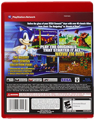 61PhHEd87NL - Sonic's Ultimate Genesis Collection
