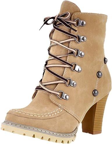 Faionny Women Boots High Heel Ankle