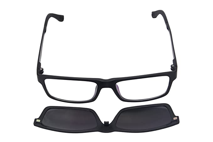 Amazon.com: SHINU anteojos Marcos Clip en anteojos de sol ...